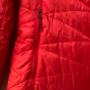 Woman's Columbia Red Ski Jacket (M) Chest 42